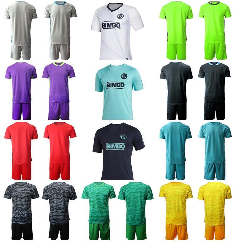 Goalkeeper GK Soccer Goalie Soccer 1 Matthew Freese Jersey Philadelphia Union Set 18 Andre Blake 12 Joe Bendik Football Shirt Kits Men