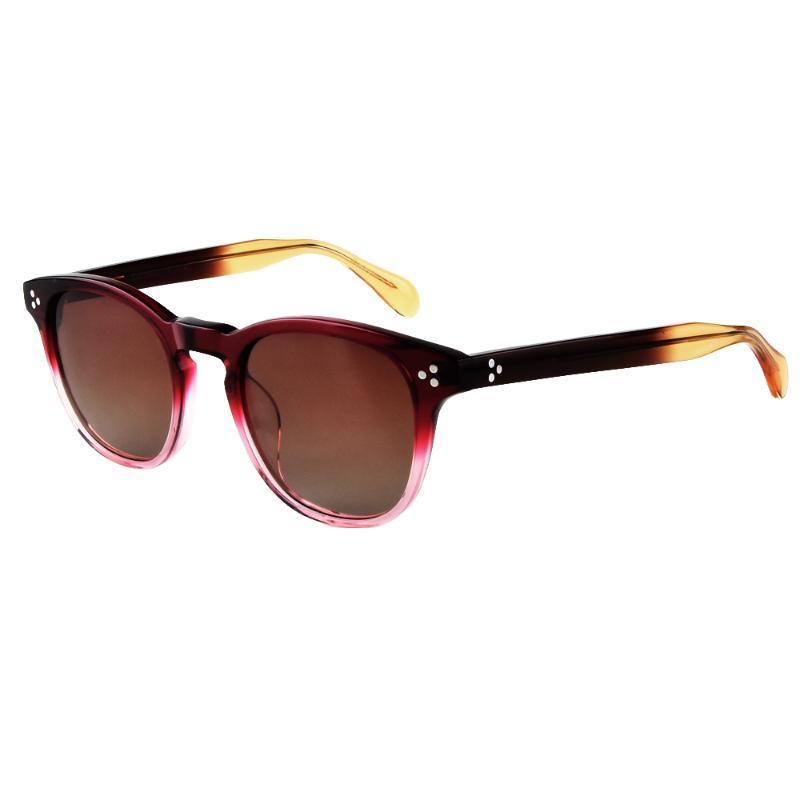 Retro ov5356 vintage redondo clássico homens óculos marca sun óculos de sol polarizado óculos dirigindo mulheres Ssoap