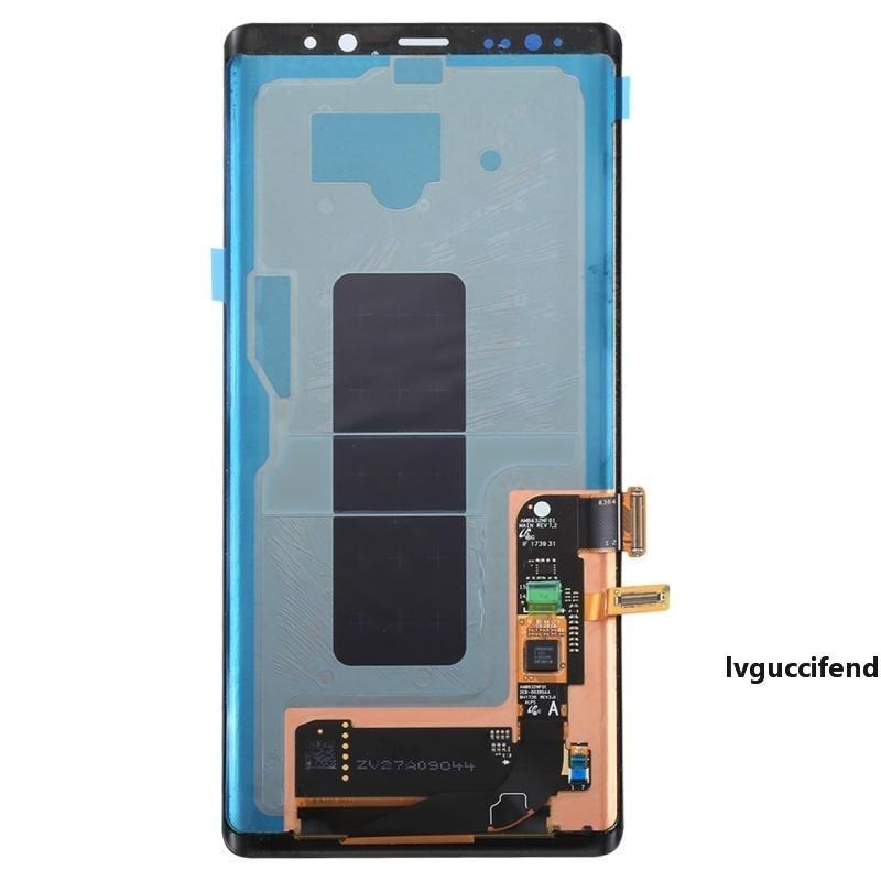 5 piezas originales OEM LCD digitalizador Asamblea sin el capítulo 8 para Samsung Nota por el envío de DHL