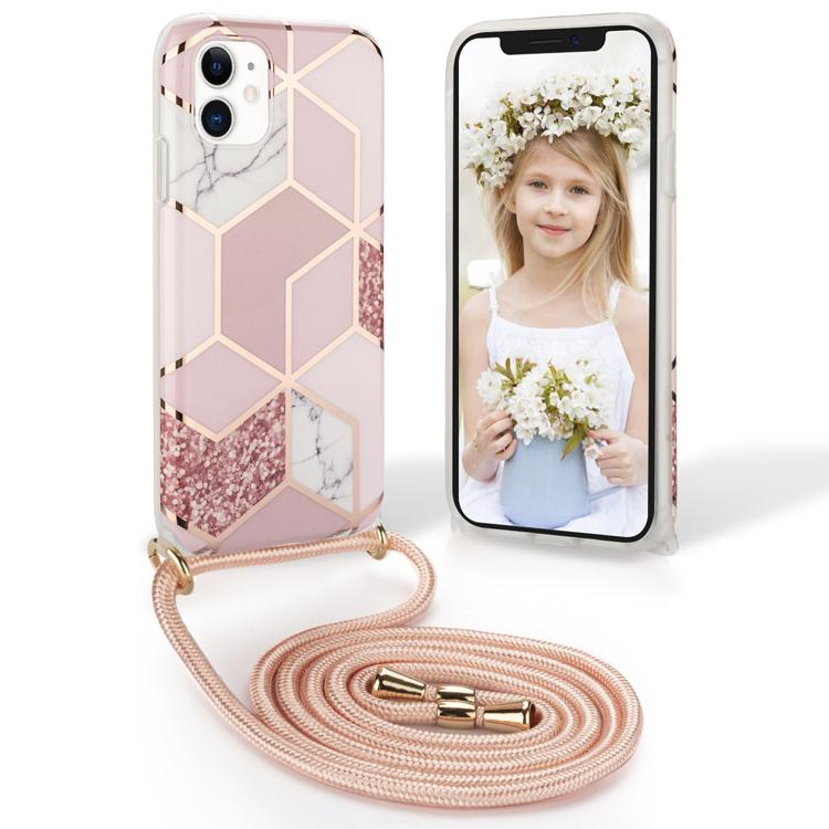 Haute qualité Corde Téléphone cas Crossbody pour iPhone 12 Pro Max XR XS 11 7 8 Plus courroie de cou Longe Couverture