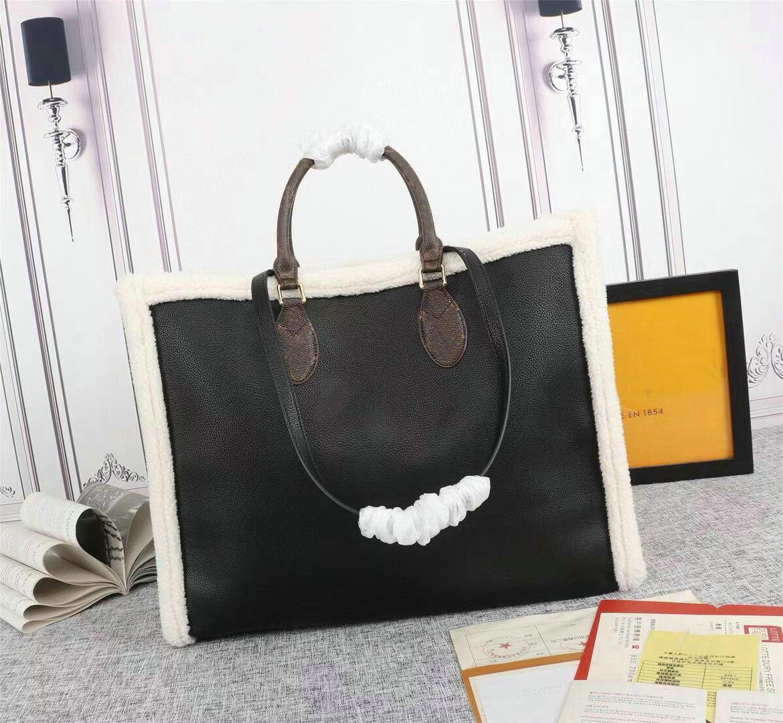 Onthego Teddy Totes Handtaschen Neonoe Luxury Designer Taschen Duplex Druck Einkaufstüten Speedy 30 M56963 M56966 M56960 M56958
