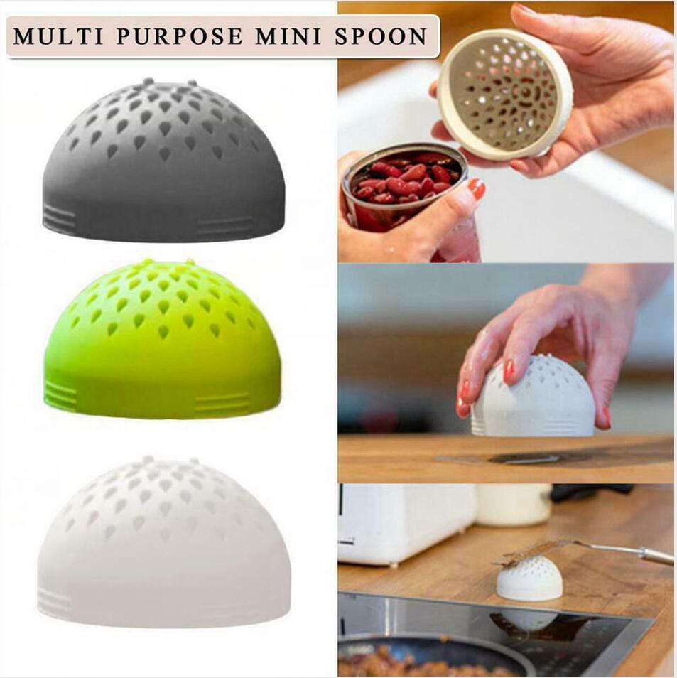 4 farben micro silikongefährdet Mehrzweckgefährdet Mehrzweck-Filter-Filter-Multi-Käfer für Küche Home-Zubehör GH1190