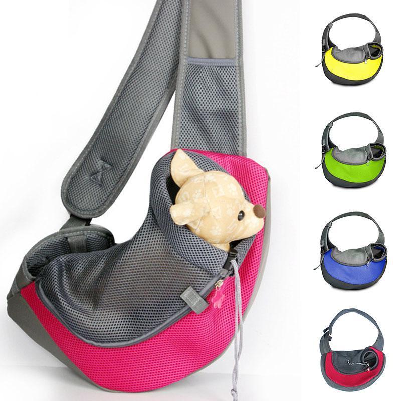 Путешествующая собака Щенок пакет носителей рюкзак сумки для носителей сумки мягкие переноски мессенджер сетчатая сумка домашнее животное наружное здание собаки горячее qsmsc