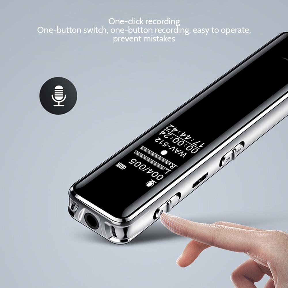 Q22 تسجيل القلم تخفيض الضوضاء الاجتماعي اجتماع الأعمال مخصص طويل الاحتياطية سعة كبيرة تسجيل خارجي القلم 3 القدرات