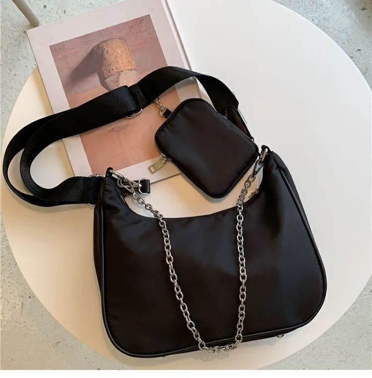 Taschen Hobo Kreuz Qualität Körper Handtaschen Frauen Schulter High Nylon Tasche Brieftasche Geldbörsen Crossbody Bestszellen FQIBQ