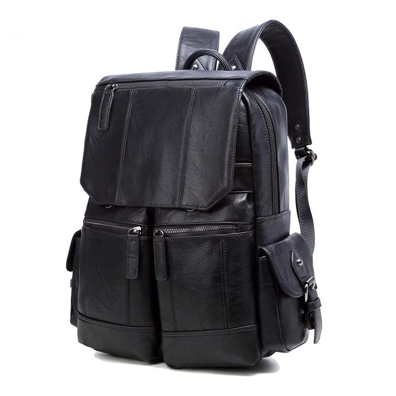Mochila da escola Mulheres bolsas bolsas bolsas de couro bolsa de ombro grande mochilas homens casuais sacos simples / floral / carta