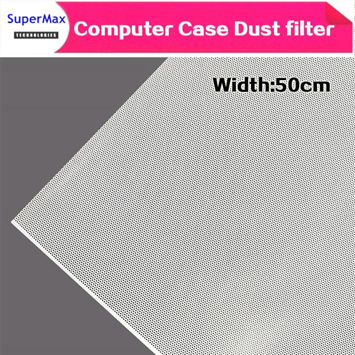 Fai da te wide50CM Computer caso della maglia del ventilatore del dispositivo di raffreddamento del PVC filtro polvere di caso copertura antipolvere del telaio 0.5m / lotti