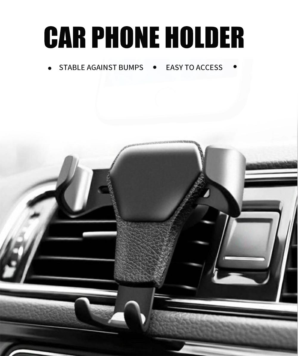Car Phone Holder For Phone In Car Air Vent Mount Mobile Phone Holder Stand Universal For Smartphone