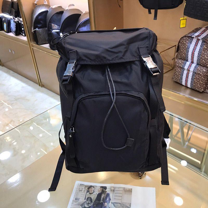 جودة عالية قماش رقيقة حقائب السفر للماء نايلون سعة كبيرة حقائب أكسفورد الغزل الأزياء الرجعية الرجال حقيبة الظهر حقيبة