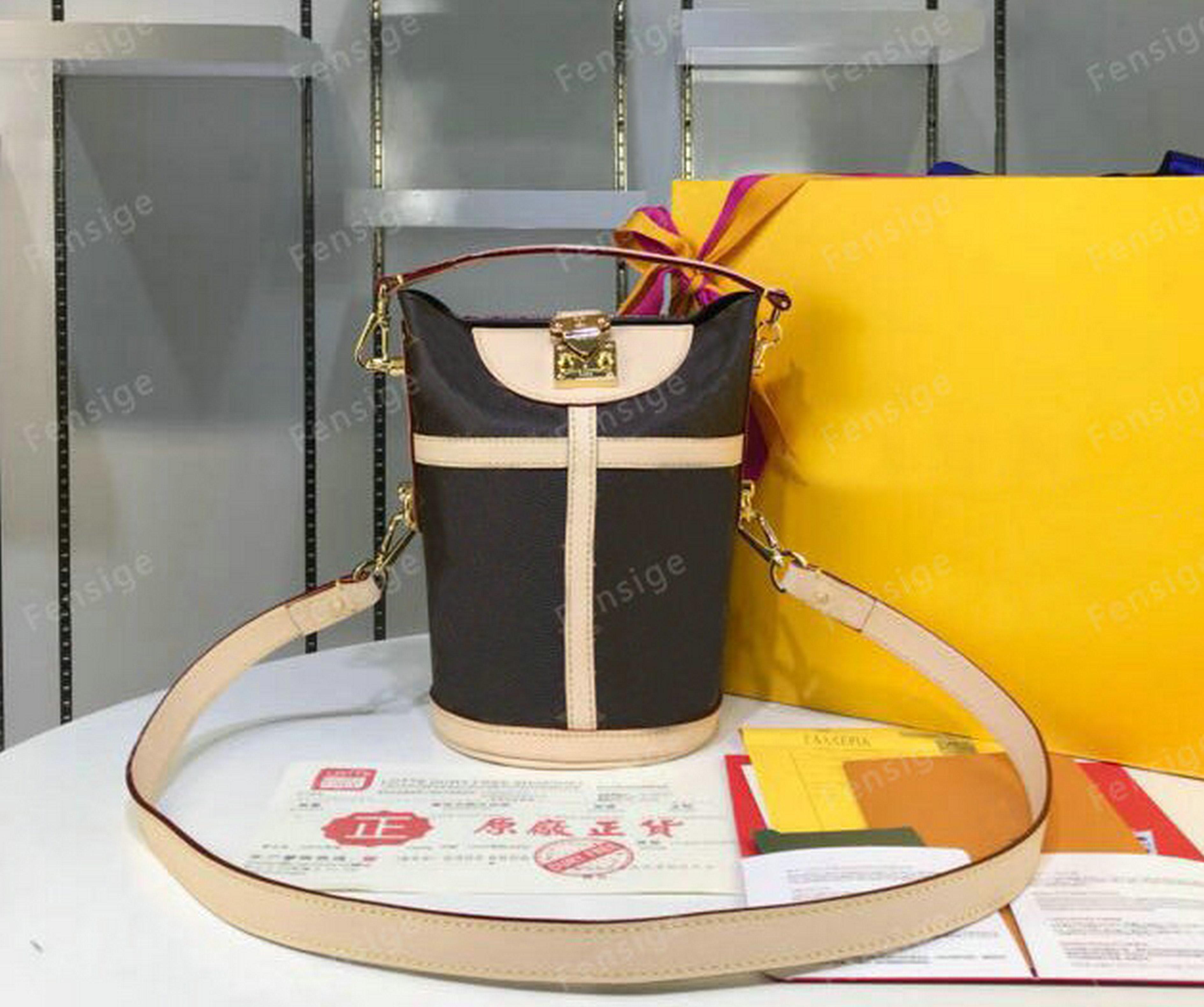 Bolso de lujo de lujo en un solo cuero Totes M43587 Duffle Cowhide Hombro Deseadores de ocio NonO Cross Bags Bolsos Cuerpo LDNDK