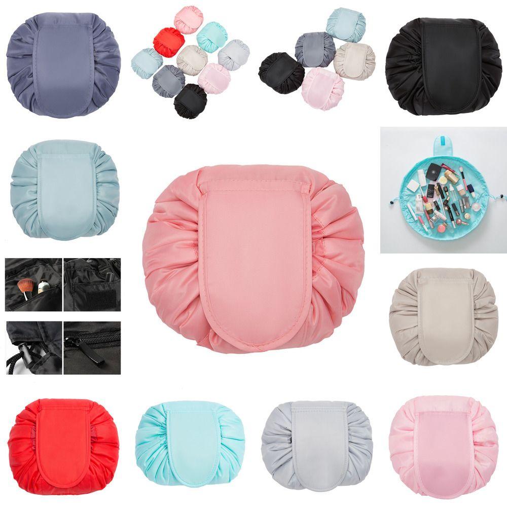 Toilette Kordelzug WASH 10 N14T4 Aufbewahrungstasche Organizer Farben Lazy Bag 11 Makeup Kosmetische Reise WSHRU