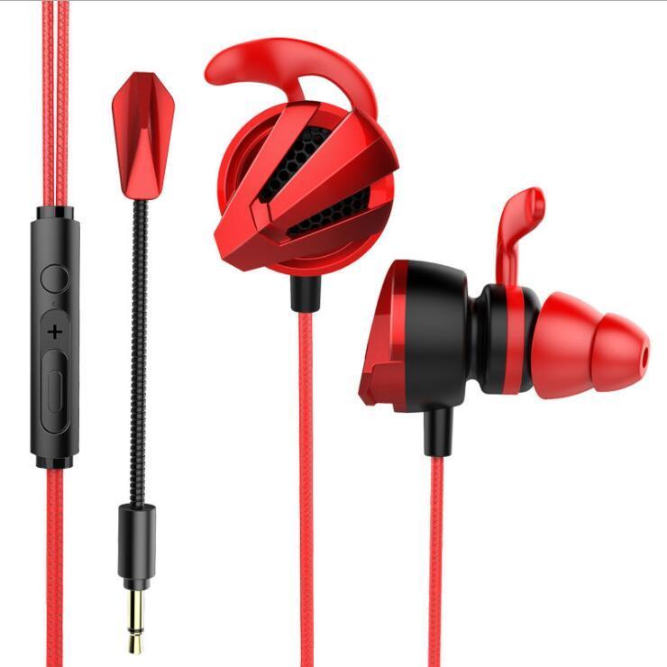 Professional G12 игры Game Gaming In-EAV Wired Headset Sport Music Наушники с микрофоном Control Control Наушники для PC Gamer LOL