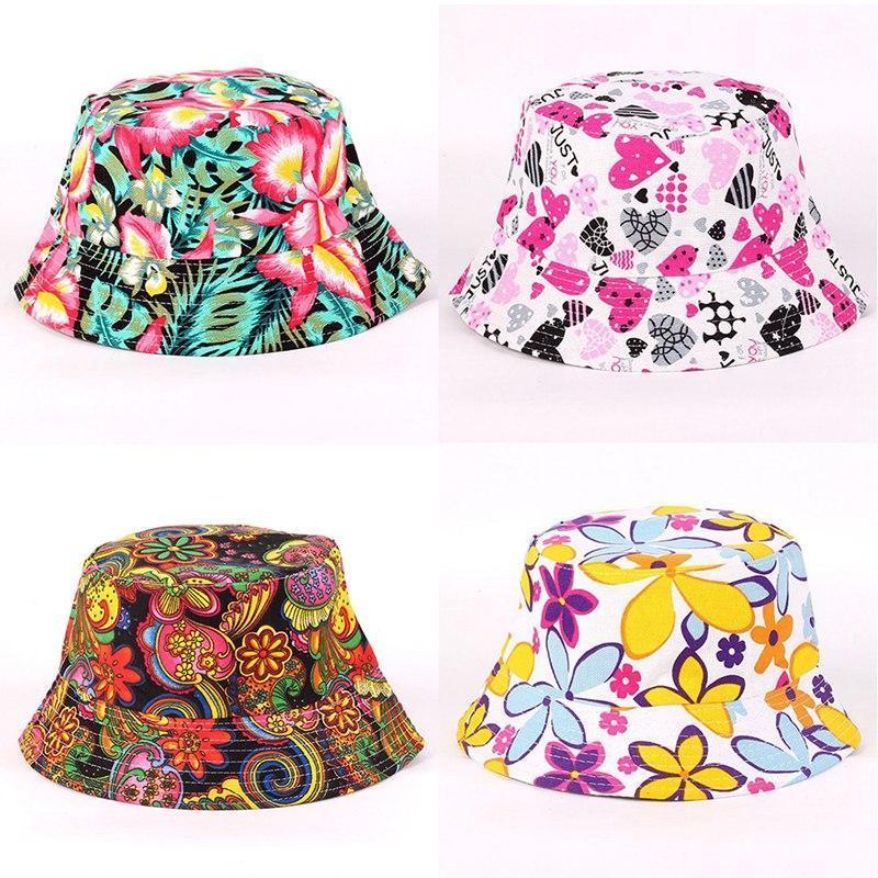 Bucket Cap Man Women Unisex Cotton Banana Hat Caps Hip Hop Cool Outdoor Sports Summer Ladies Beach Sun Fishing Bucket Hats