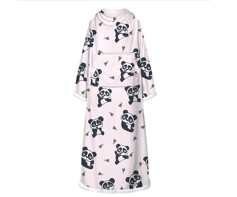 Bambini rompers bambini bambino puro tuta bianca bella fiore animale pigiama per dormire ragazze camminata con la mia coperta
