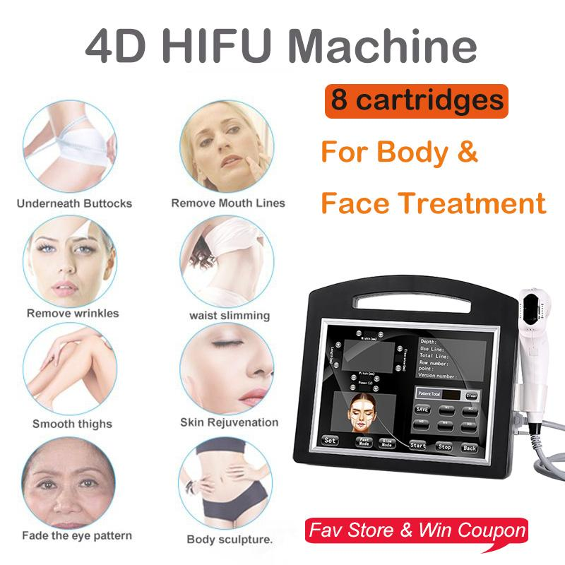 New Arrival Ultrasound Face Lift One Shot 12 lines 20000 Shots Wrinkle Removal 4D hifu for Body Slimming Skin Tighten Beauty Device