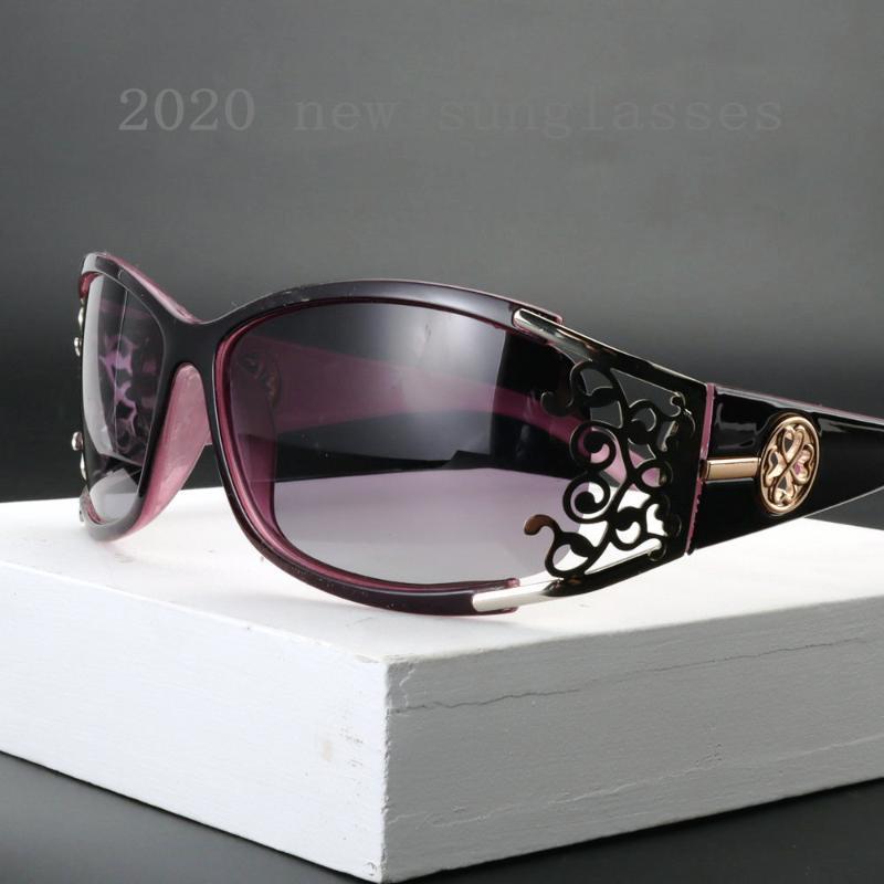 Color Nuevo Gafas Gafas de sol Mujeres Diseñador UV400 Glasses transparentes NX Sun Expertado Mujeres Black 2020 Gafas Big Frame AEIQP