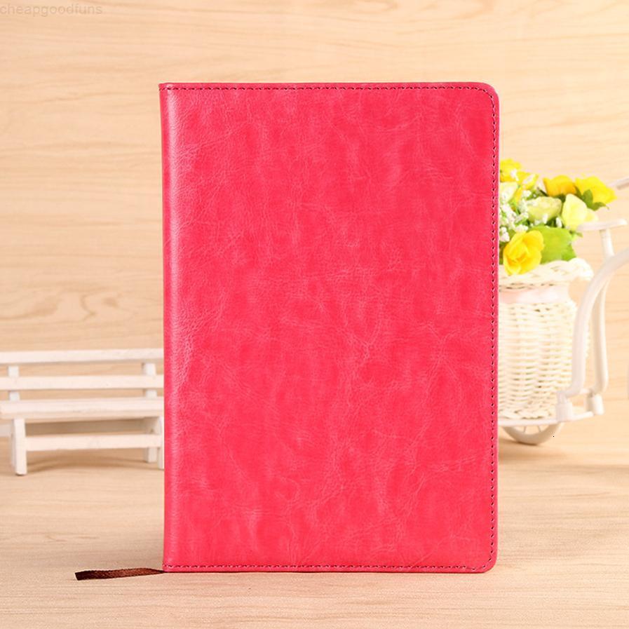 A5 Klassisches Notizbuch, PU-Leder-Hardcover-Tagebuch Business-Notizblock, 100 Blatt Notizbuch (5 farbig) - Schulbüro Noteboo