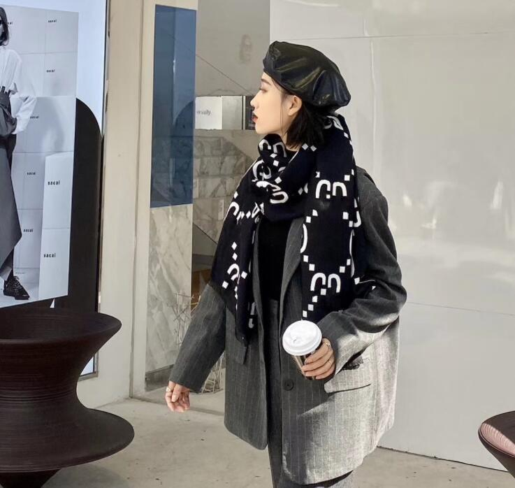 Kış eşarp erkek kadın şal için sıcak anti soğuk şık tasarım atkılar uzunluğu 180 cm en kaliteli 3 renk isteğe bağlı