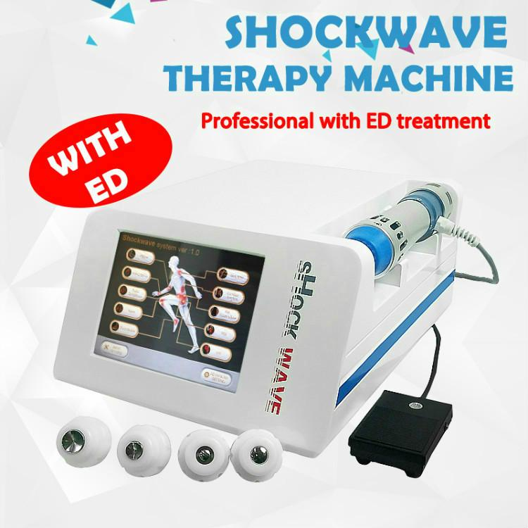 Physiotherapy of erectile dysfunction with Acoustic radial shock wave/Extracorporeal onda de choque physical therapy machine for ED