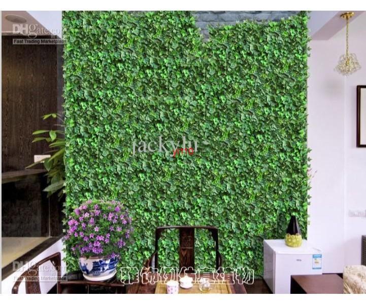 250 CM Uzunluk Yapay İpek Plastik Simülasyon Tırmanma Vines Yeşil Yaprak Ivy Rattan Ev Dekorasyonu Bar Restoran Dekorasyon Için