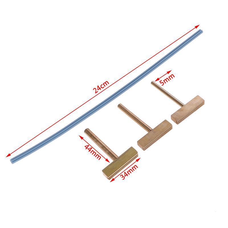 Accessori per utensili elettrici a mano 30W 60W 40W Saldatore T-Iron T Tip T-Head, T-T-T-PULS Rame + Pressa per cavi in gomma per schermo LCD Pixel Flex riparazione