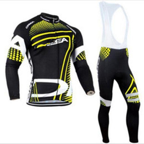 Команда Long ROPA Ciclismo Велосипедные майки / Осенние Маунтия Велосипеда Одежда / МТБ Велосипедная Одежда для человека