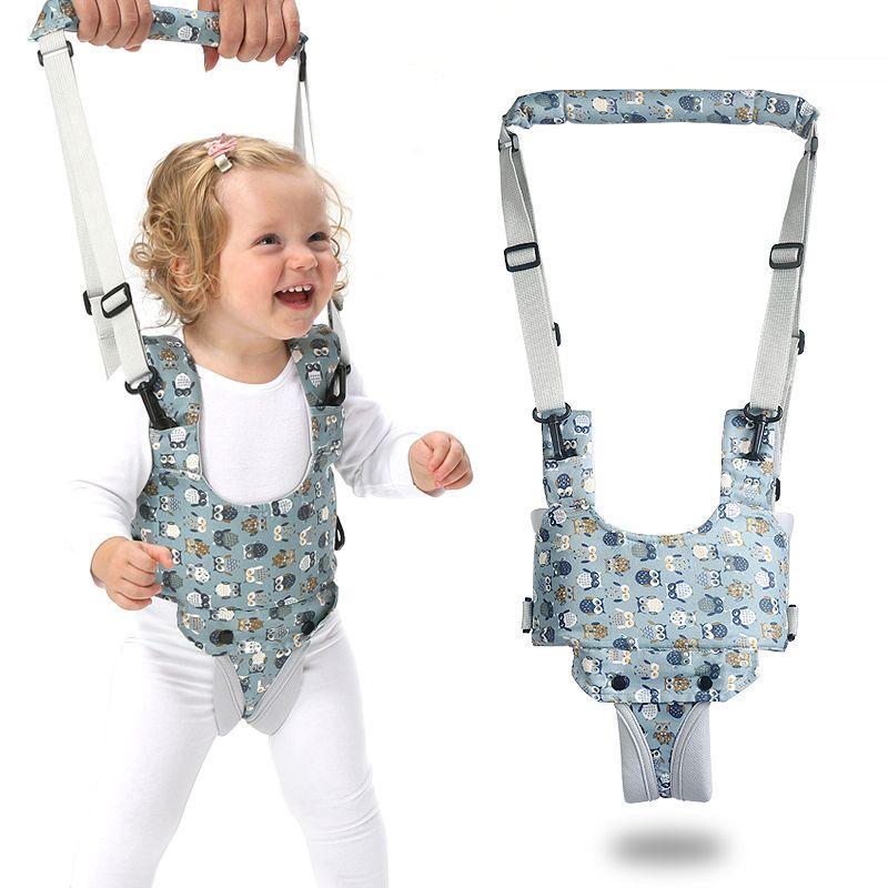 Bebek Walker Toddler Asistanı Yürüyüş Yürüyüş Öğrenme Koşum Sırt Çantası Walk Andador Para Bebe Sevimli Bebek Çocuk Kemer Stand Up W1217