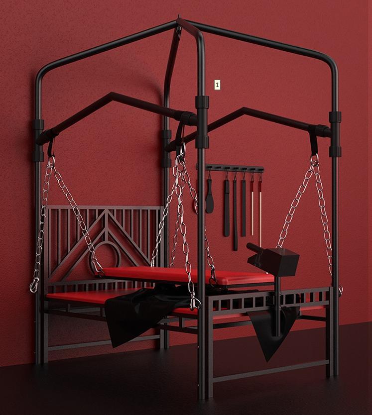 Nuevo diseño BDSM cama sexo muebles silla sexual