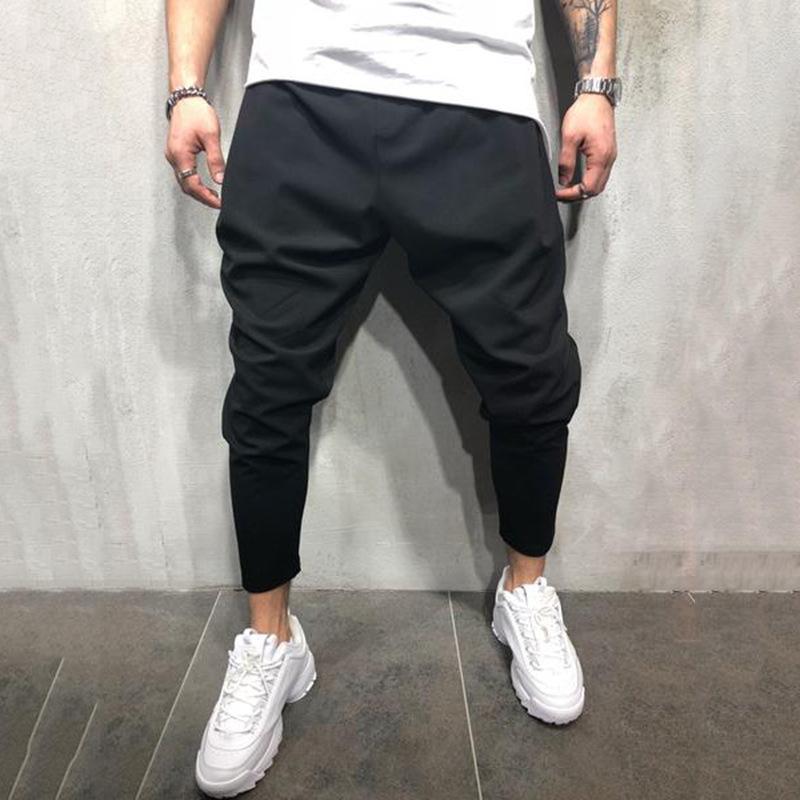 Мода личности Jogging мужские брюки хип-хоп Осенние улицы мужские Backstreet брюки галон