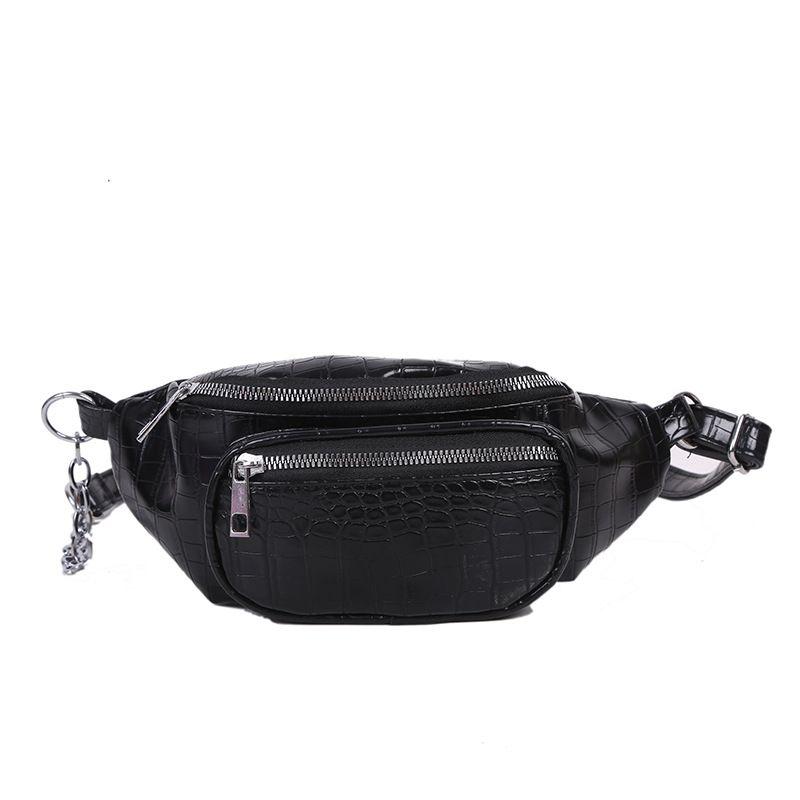 Cinturón Mujer Cintura Xajrf Moda Bombag Crackle para 2020 SAC Lady Bag Bod Bod Bag Bolso Cross Small Woman Sanane Q1 Nice KQMPO