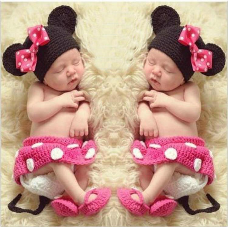 Newborn Photography Props Chicas Disfraz Disfraz Diseño Fotos Props Punto Estudio Fotografía Linda Ropa de Fotografía
