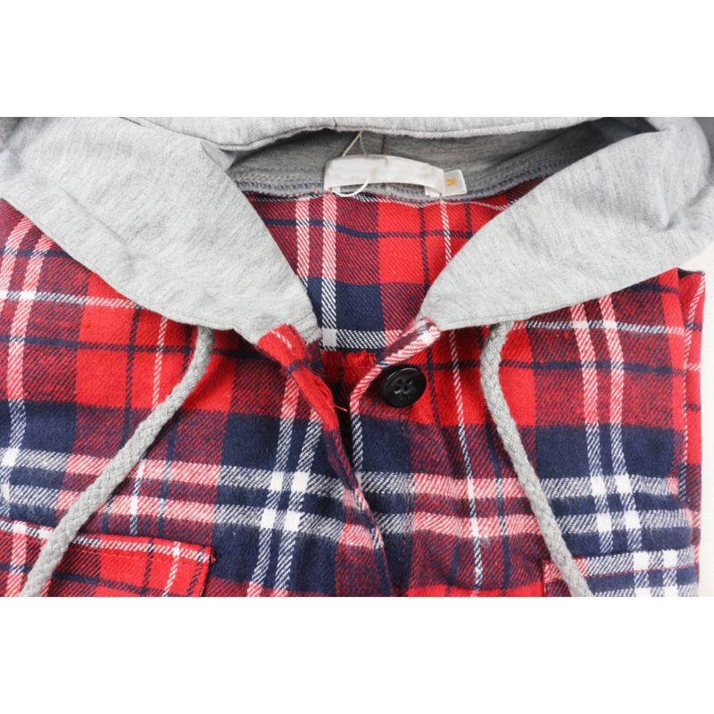 Sonbahar Kadın Çizgili Flanel Gömlek Uzun Kollu Hoodie Marka Pamuk Bluzlar Ile Uzun Kollu Bahar Moda Casual Kadın Giyim Tops 201202
