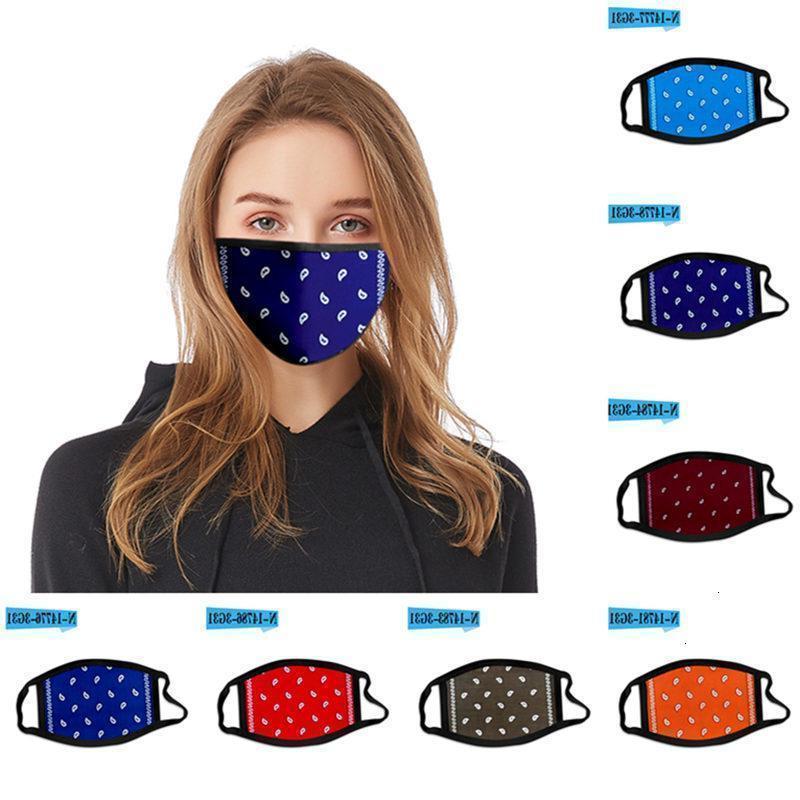 Черная пятница пыль напечатана цветочная M PM2.5 анти хлопчатобумажный моющийся фильтр открытый на открытом воздухе на открытом воздухе маска 300 шт. T1i20791Cyber понедельник