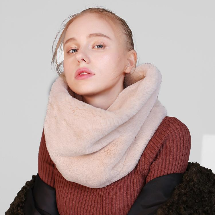 Inverno americano envolve lenço falso lenço de cashmere europeu homens colarinho homens e anel cachecóis mulheres