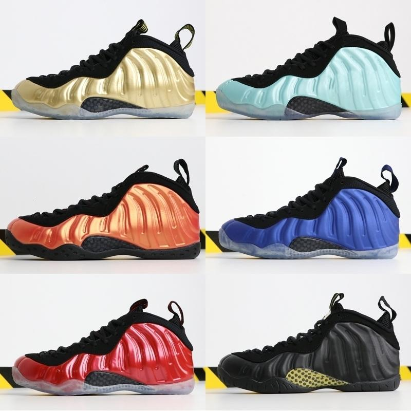 2019 Foam One Pro OG Men Basketball Shoes Royal Blue XX 20th Anniversary Copper Rust Pink Athletics Sneakers Designer Shoes 40-46