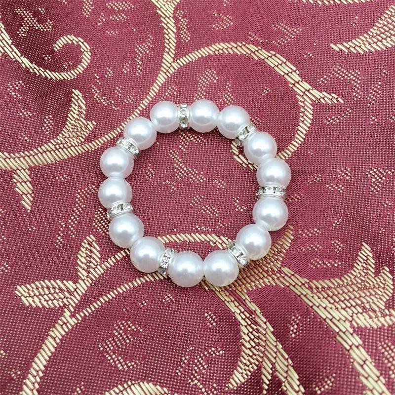 Manuale perline tovagliolo anello elastico forza perla riutilizzabile tovaglioli fibbia moda vendita calda con qualità superiore 1 8HW J1