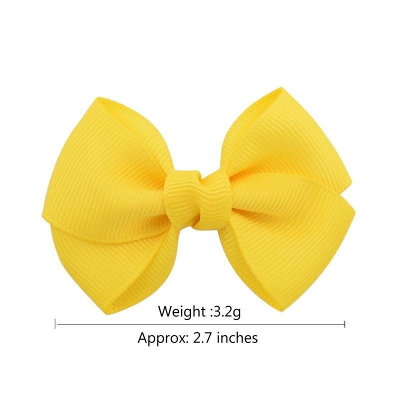 2.7 20 Color pulgada Kids Boutique Boutique Bows con accesorios para el cabello del clip para niñas para niños Pin Pines Pin Clip 807 CR4P