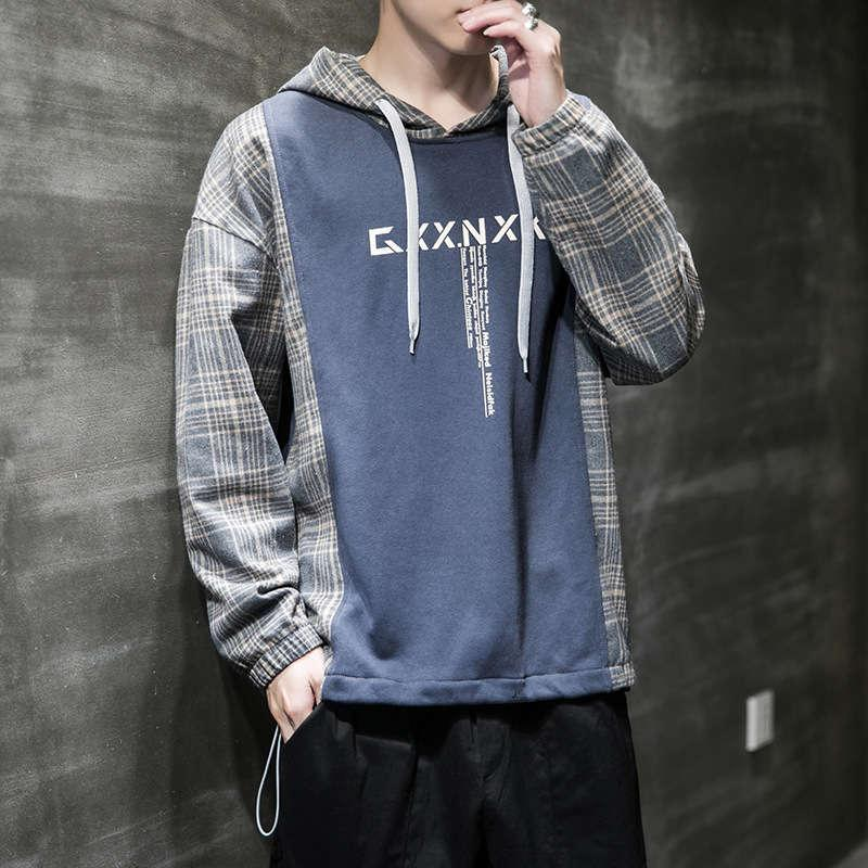 YAOOU Y190 Herren Herbst koreanische Mode mit Kapuze student hübscher lässig pullover sport langarm kleidung