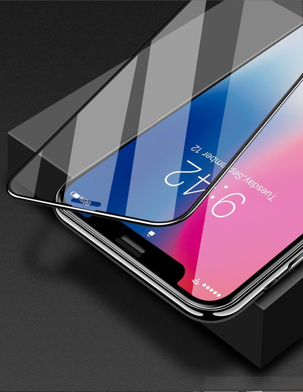 Nova Moda para iPhone 11 11PRO 11PRO MAX X XS XS MAX 8 7 6 PLUS Protetor de tela de vidro temperado Protetores de tela clara filme