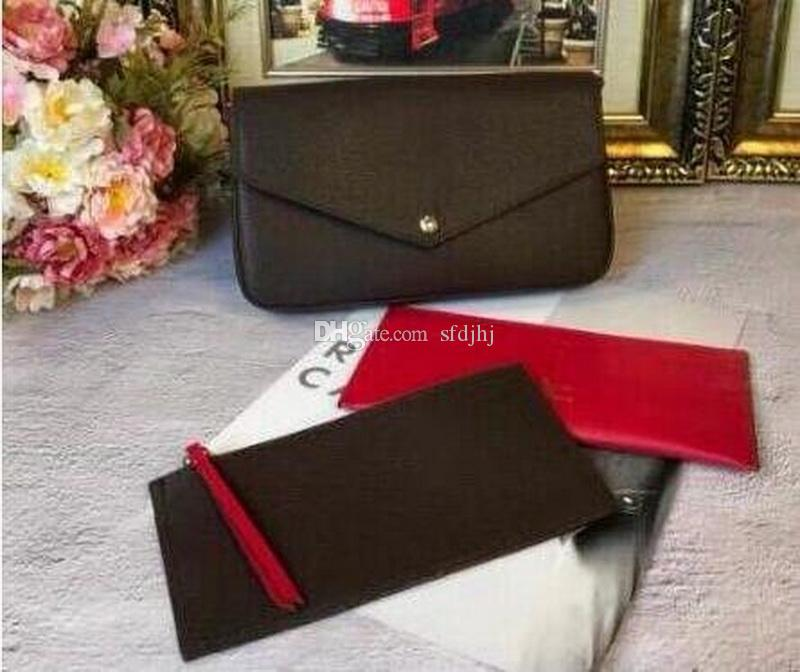 Mode Top Kwaliteit Lederen Patchwork Messenger Bag Vrouwen Vrouwelijke Ketting Strap Schoudertas Dames Flap Bags Portemonnee met Doos Dust Bag Handtassen