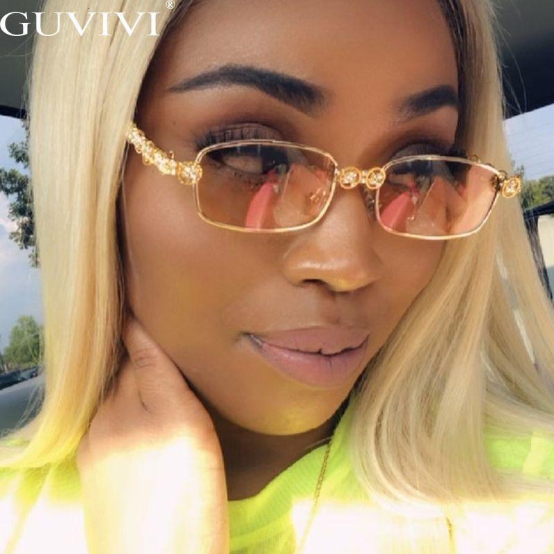 Shades Солнцезащитные очки Oculos Очки Steampunk Мода Алмазная Степень Старинные Женщины UV400 HTCQU