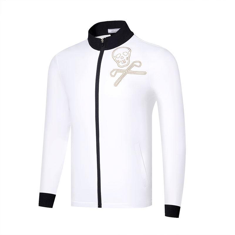 Мужская куртка для гольфа осень зима новый бархатный ветрозащитный теплый пиджак Marklona гольф спортивный отдых мужская одежда бесплатная доставка