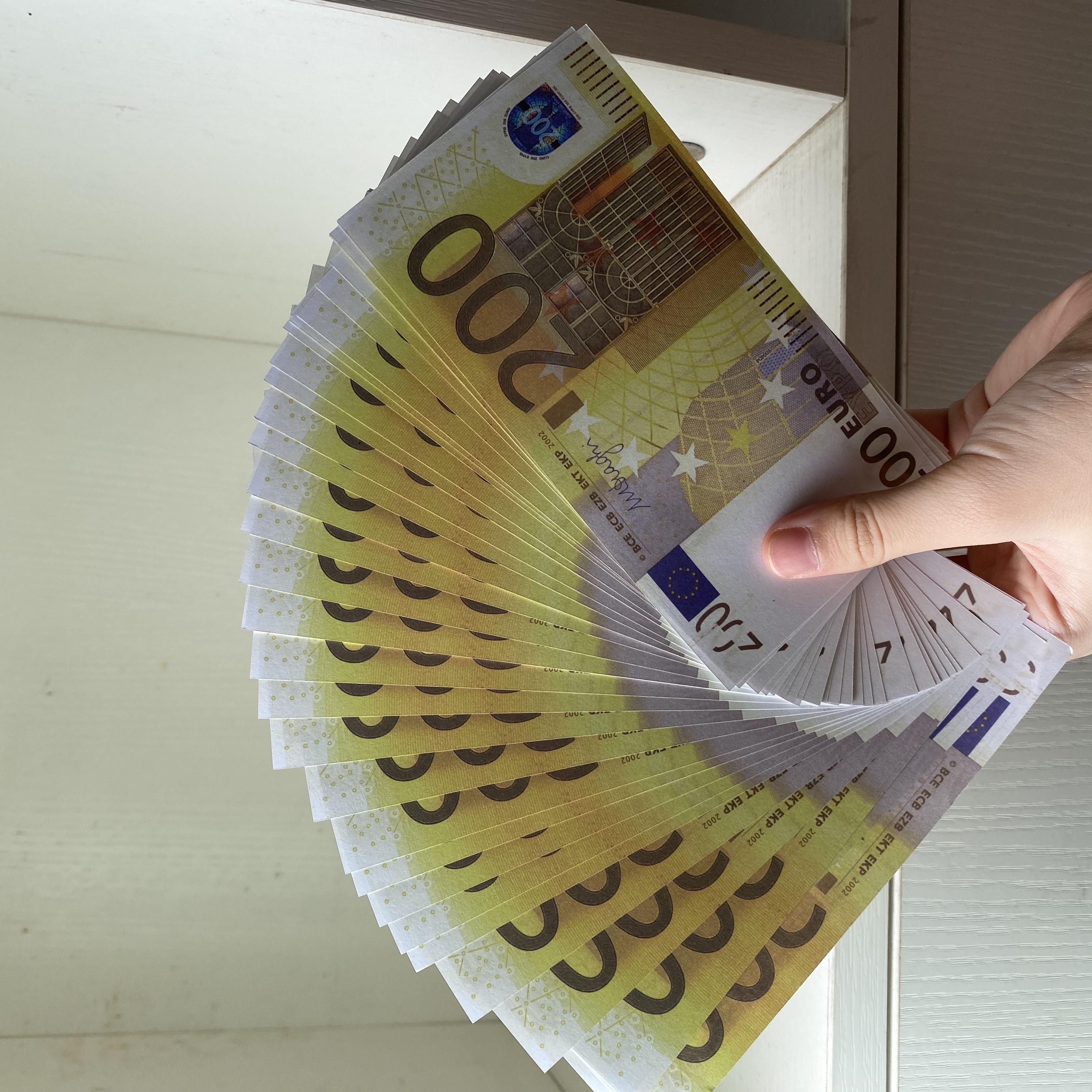 Best Quality Prop euro money billet 10 20 50 100 Euro money billet euro 20 play money01