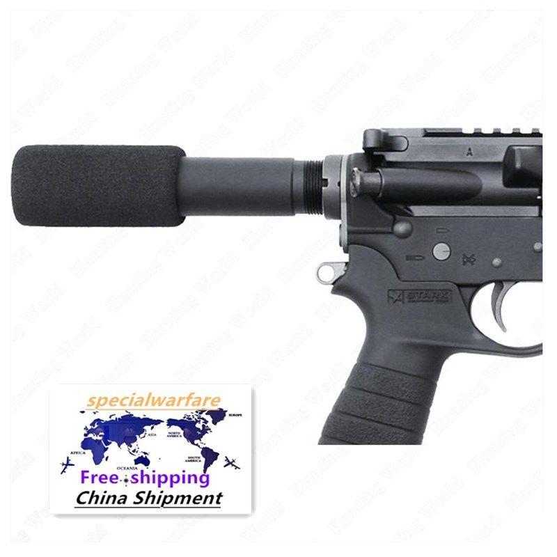 """. 223 5.56 Mil AR-15 M16 Tubo tampone per pistola con coperchio di pad in schiuma da 3,5 """""""