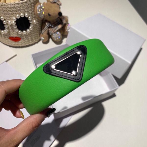جديد وصول مثلث إلكتروني عقال لون الحلوى النساء فتاة إلكتروني هيرباند مع ختم الأزياء تصميم اكسسوارات للشعر جودة عالية