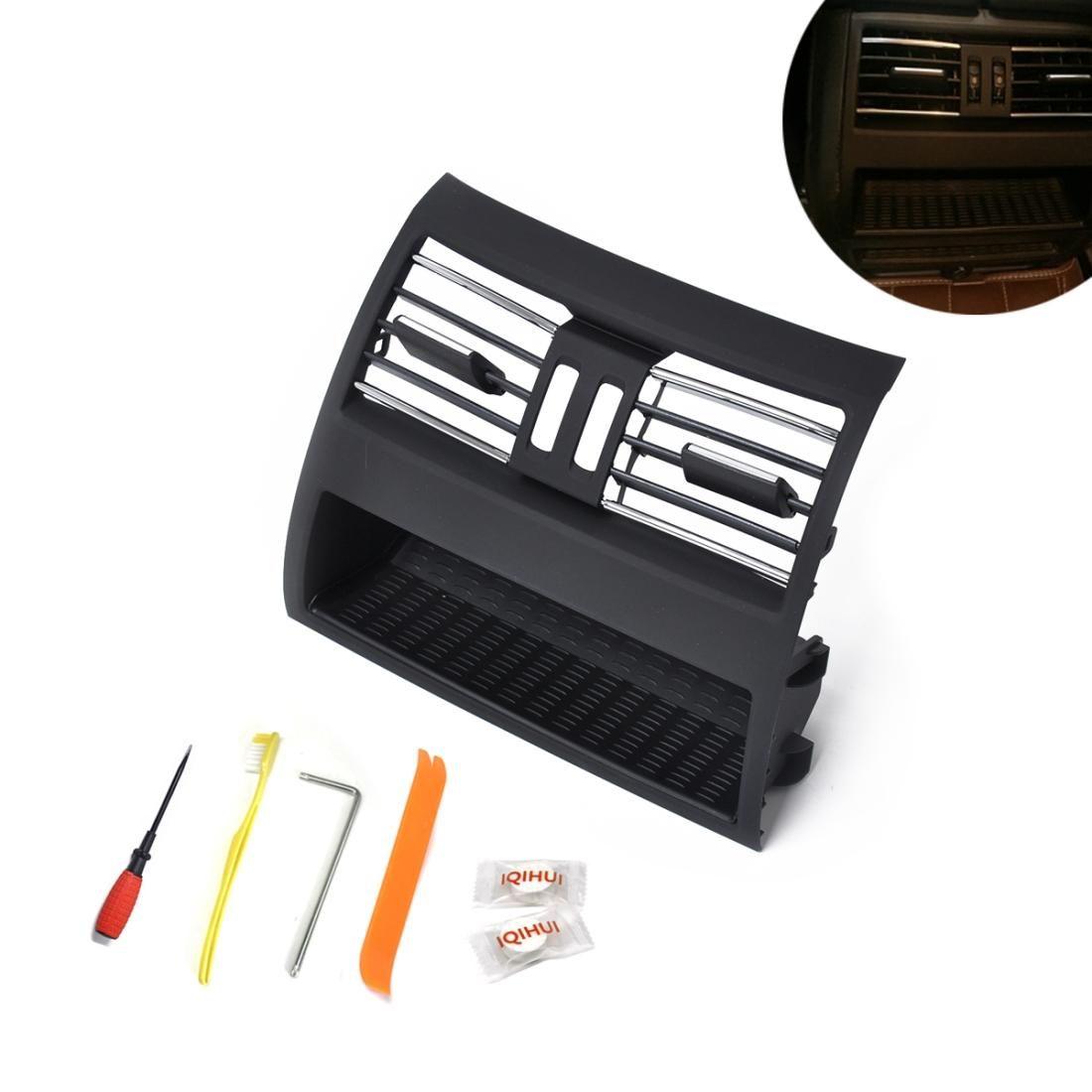 Console de voiture Console arrière Grill Dash AR Vent d'air 64229172167 pour BMW 5 Série avec outils d'installation