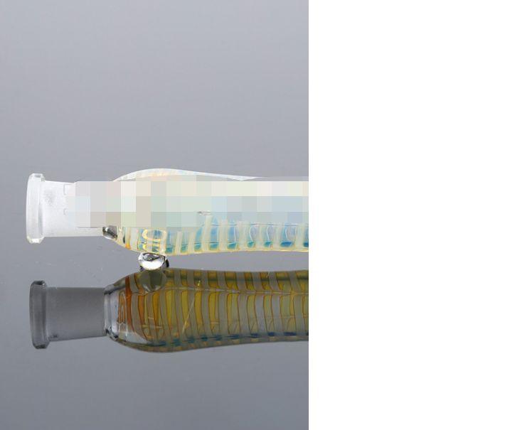 2021 Coleccionista de néctar de vidrio con puntas de titanio DAB, plataformas de aceite de paja de silicona, tubería de vidrio, tubería de vidrio, tubería, tubería rápida.