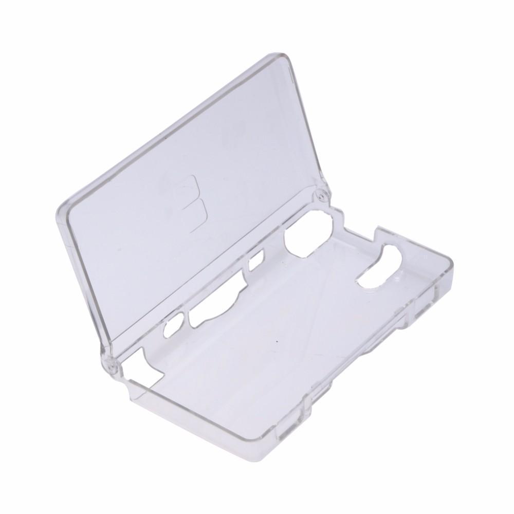 Sert Kristal Durumda Temizle Cilt Kapak Kabuğu Nintendo DSL NDDS Lite NDSL + Ekran Koruyucu Film Foi Nintendo DSL NDS Lite NDSL50 için Uygun