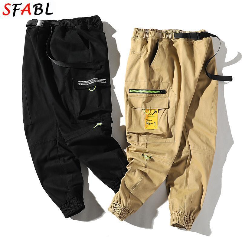Pantaloni da uomo SFABL HIPBL HIP HOP UOMO Trend joggers streetwear streetwear harem lunghezza caviglia pantaloni casual harajuku sportswear maschio