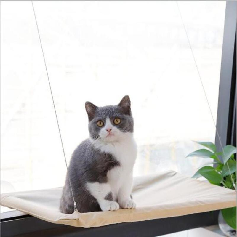 Kedi Yatakları Mobilya Pet Hamak Bonking Pencere Monte Koltuk Ev Vantuz Asılı Yatak Mat Lounge Kediler Kitten Malzemeleri Rahat
